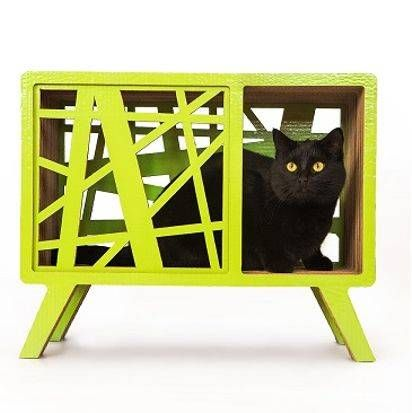 Scandinavian pet bed: Scan Design cat bed/ indoor dog house