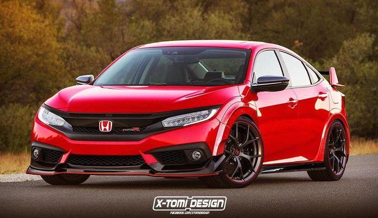 Rendering: Honda Civic Type R Sedan | automotive99.com