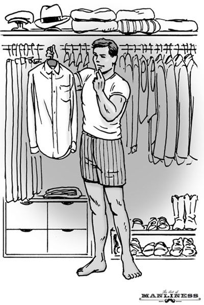 Build An Interchangeable Wardrobe - A Man's Guide To Buying Clothing That He'll Actually Wear