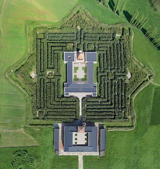 The World's Largest Maze Opens in Italy — Design News | Apartment Therapy
