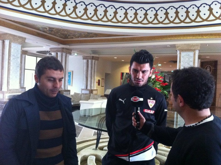 Interview of Serdar Taşçı on TRT HD