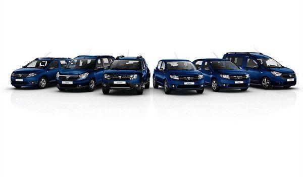 A Dacia limitált szériával ünnepel