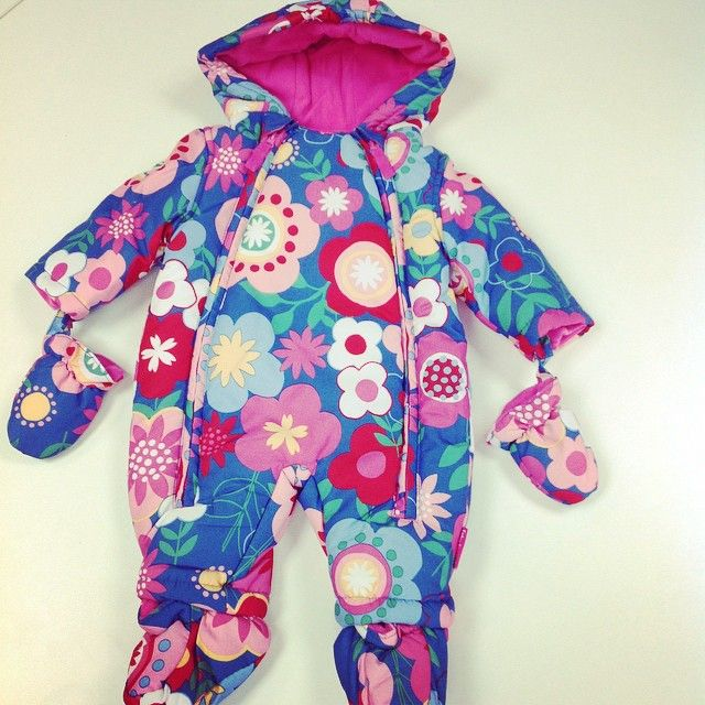 Vanity Inverurie @vanityinverurie Instagram photos | New baby girl snowsuits instore now. Keep that little one warm this winter!