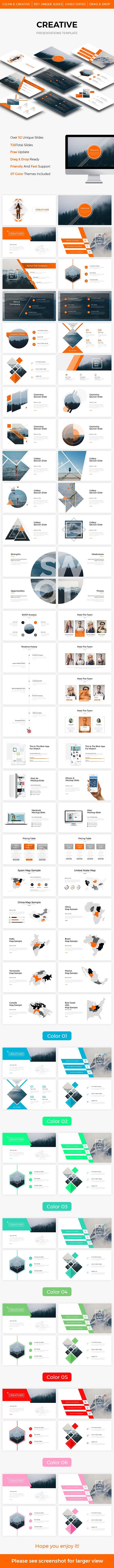 CREATIVE Powerpoint Template 2017 - Creative PowerPoint Templates