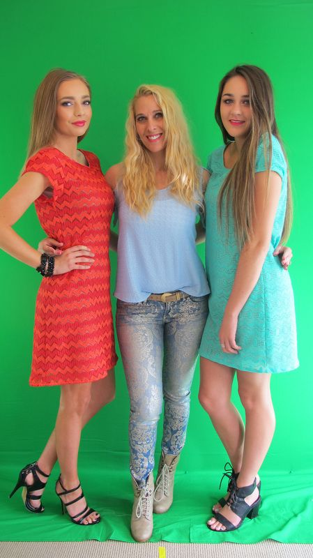 First shot of the day with my gorgeous models Rhygan and Courtney. <3
