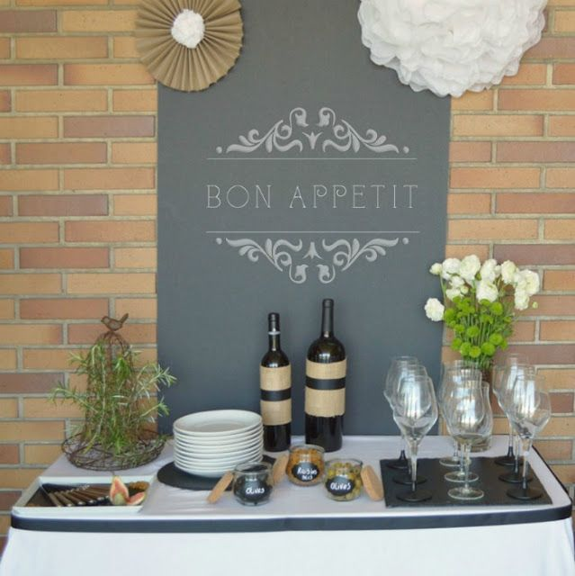 Little Big Company | The Blog: Wine and Cheese Party by Bistrot Chic