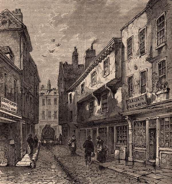 Leather Lane - Forgotten London