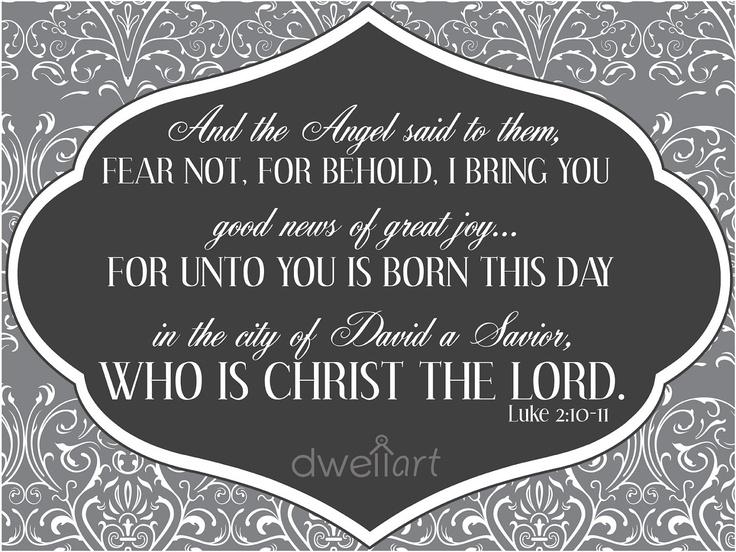 Christmas Verse Luke 21011