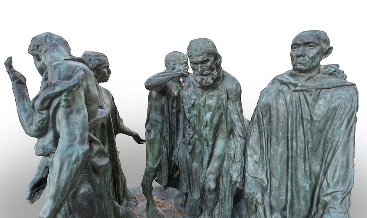Les Bourgeois de Calais by Rodin by mauricesvay
