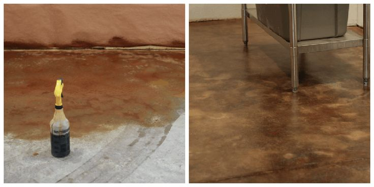 20 best images about castle rock construction on pinterest for How to clean acid stain floors