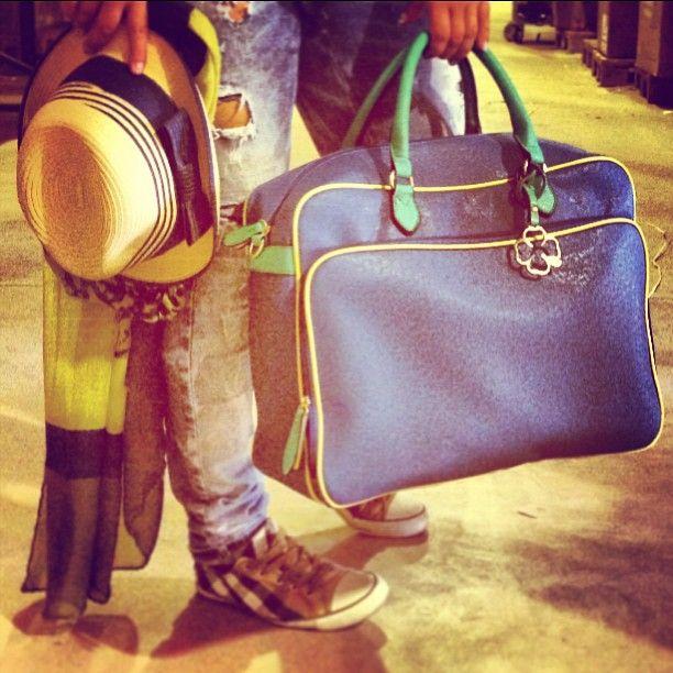 Enjoy the day #doca #style #fashion #bags #hat #bagsofinatgram #lovebags #instadaily #greece #lifo #now #bestofthedy #woman #ss13 #summer