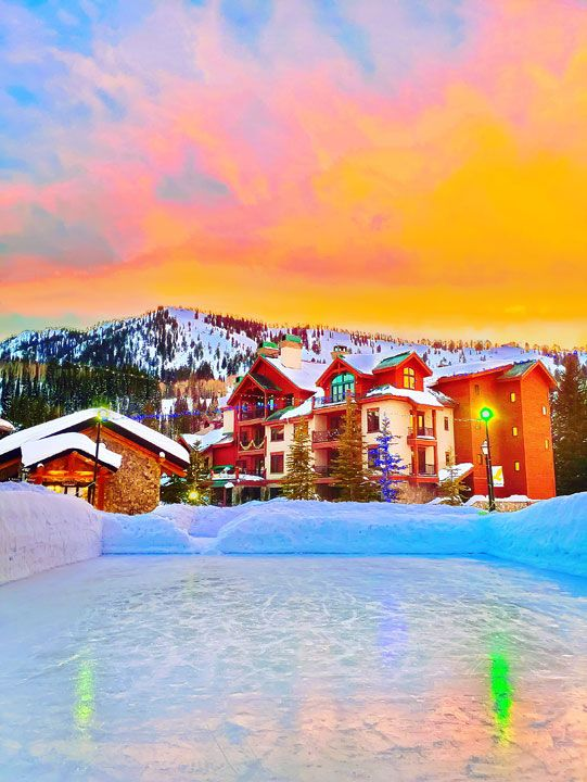 Solitude Mountain. A private, secluded ski experience in Utah. The BEST resort to improve your skiing!