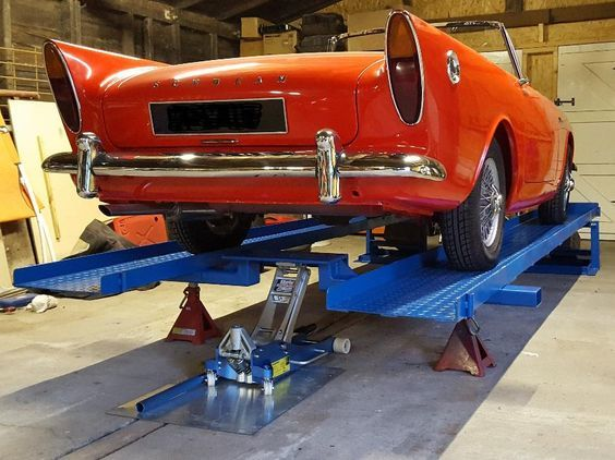 Car lift/ramps - the simple unique patented MR1s for DIY mechanics