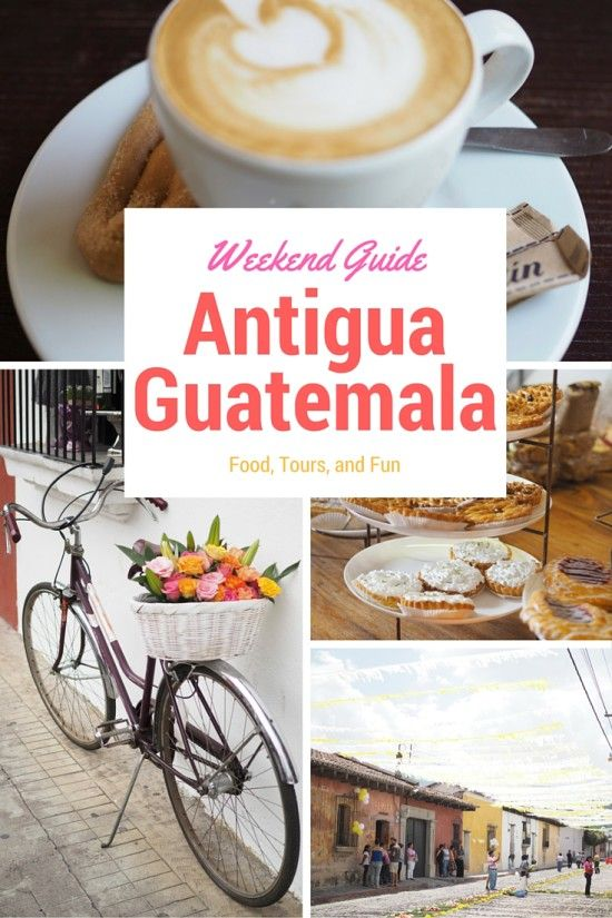 Picture yourself enjoying a lovely view of a volcano while sipping delicious coffee. Antigua Guatemala is gorgeous and has ample restaurants for you to try!