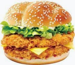 Chef Zakir's Cooking: KFC Zinger Burger Recipe