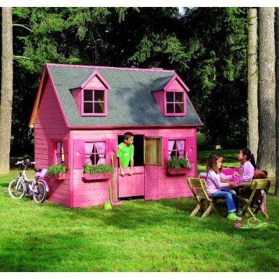 Cabane enfant tage en bois massif rosalie cerland maisonnette et cabane cabanes enfants - Cabane enfant castorama ...