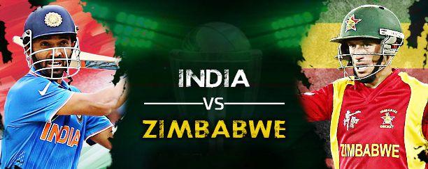 Watch India Vs Zimbabwe 1st Odi Match