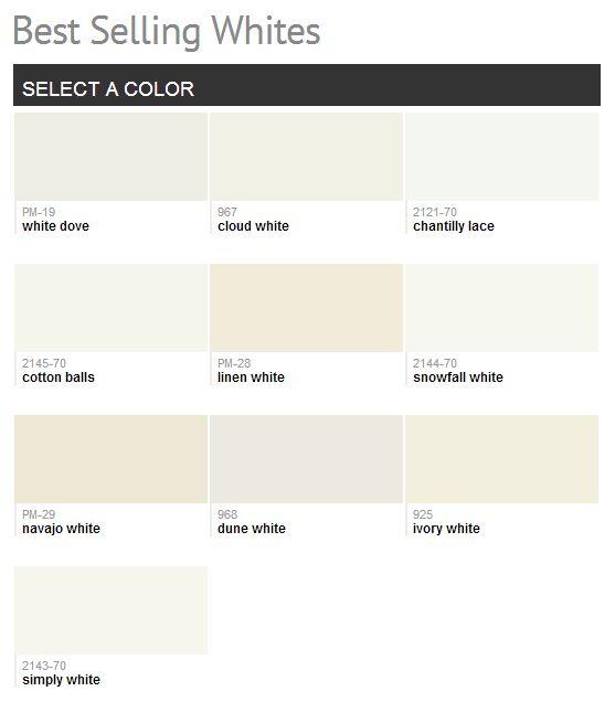 Best 25 benjamin moore linen white ideas on pinterest for Best cream paint color