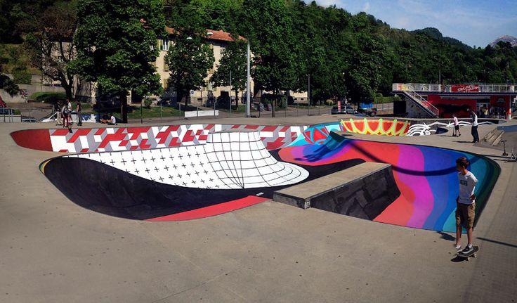 Galeria - Skatepark Sundial: uma pista de skate convertida em relógio solar - 21