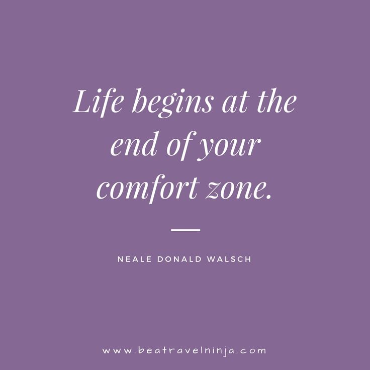 Exploration Warrior - Quotes. Life begins at the end of ...