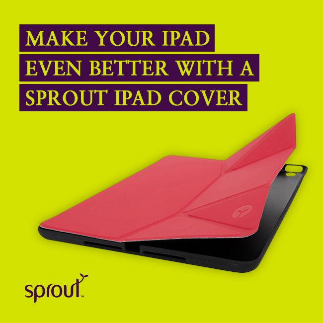 Make your iPad even better with a Sprout iPad cover. Is your iPad wearing the best? #sprout #ipad #ipadcase #ipadcover #hot #trend