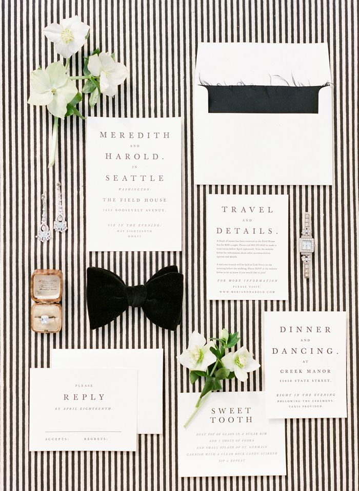 2015 Bridal Horoscopes – Capricorn Wedding Invitation Suite by @minted // photo by @ktmerry, styling by @joydevivresb, ring by @sofiakaman