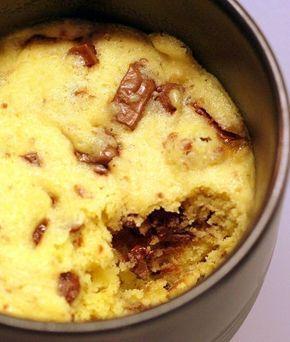 MUG COOKIE : le cookie en solo prêt en 5 mn (cuisson au micro-onde dans une tasse).