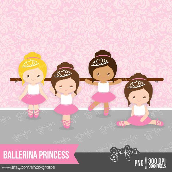 Painel Bailarinas princesas