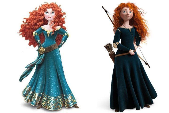 Disney Goes Back To Original Brave Princess After Makeover Backlash - Cosmopolitan.com