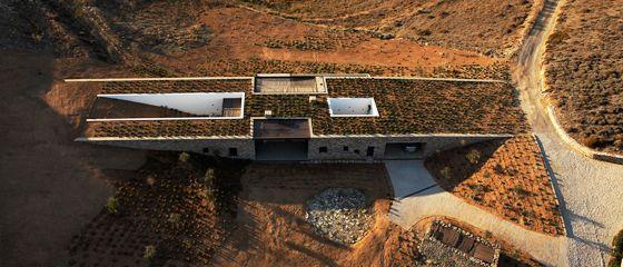 Aloni House, Antiparos island, architecture: decaArchitecture, © decaArchitecture