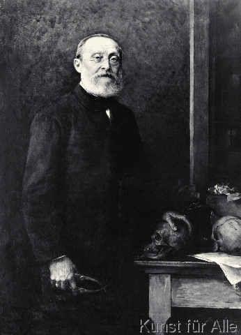 Hans Fechner - Rudolf Virchow,Porträt/Fechner 1891