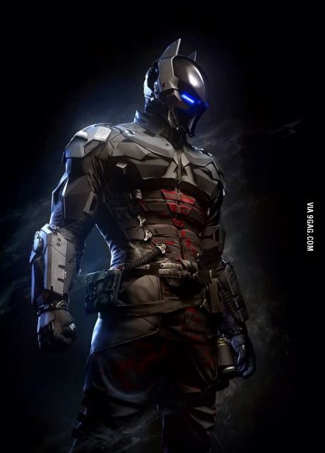 Batman Arkham Knight suit - I wanna play this soooo bad. Also. Who the hell is behind the mask?! I think it's Jason Todd