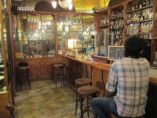 Barra de la Confitería (Barcelona) / Bar at La Confitería (Barcelona)