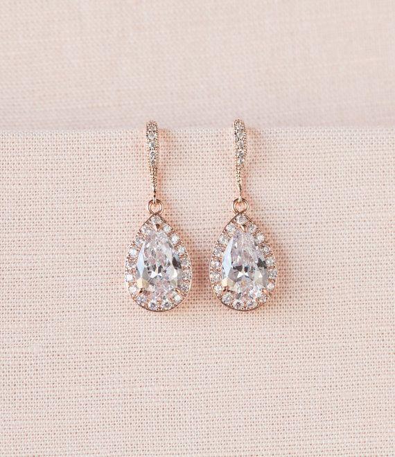 Boucles d'oreilles cristal Bridal bijoux de par CrystalAvenues