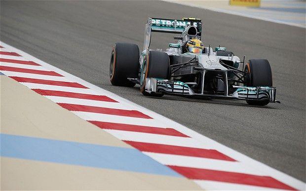Rosberg, Bahrain Grand Prix 2013
