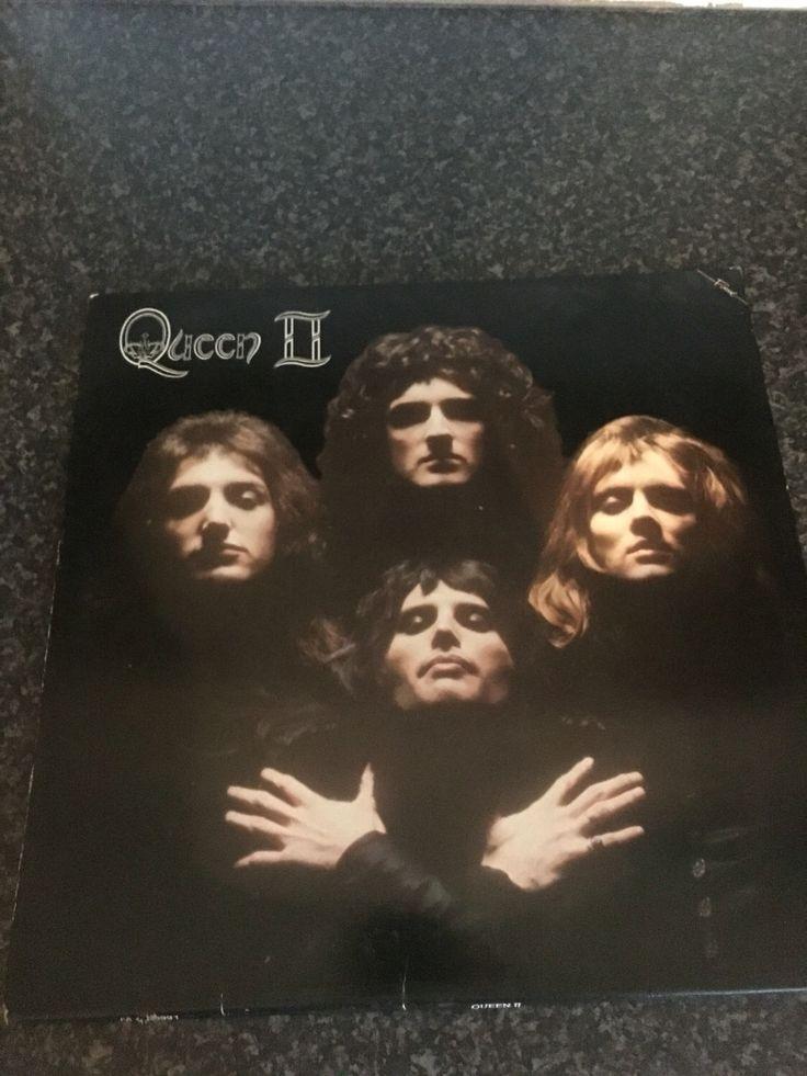 Queen II album  fantastic 1975 recording Queen Album Seventies Rock by AimeEncore on Etsy https://www.etsy.com/uk/listing/460698048/queen-ii-album-fantastic-1975-recording