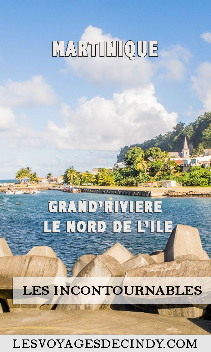 Déccouvrez Grand'Riviere, une commune du nord de la Martinique. #voyage #blogvoyage #martinique #antilles