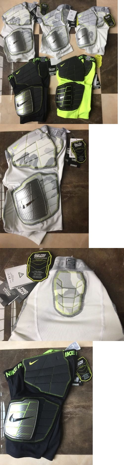Protective Gear 21224: Nwt Nike Pro Combat Hard Plate Football Compression Shorts Youth Boys, L, S -> BUY IT NOW ONLY: $34 on eBay!