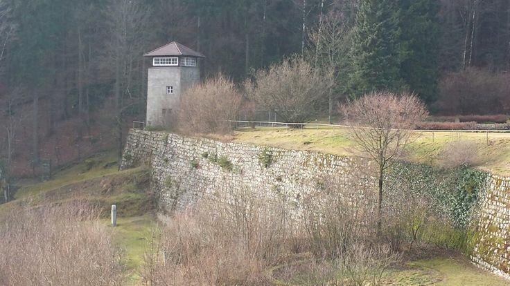Gedenkstätte Flossenbürg in Flossenbürg, Bayern