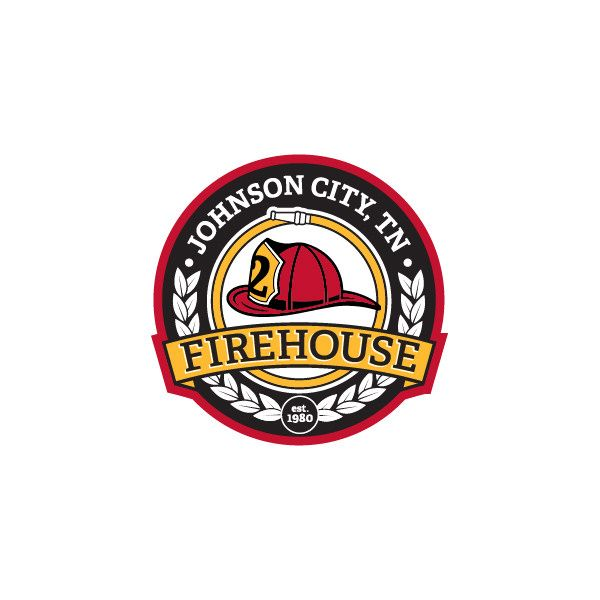 Patch/ logo design for Firehouse BBQ.
