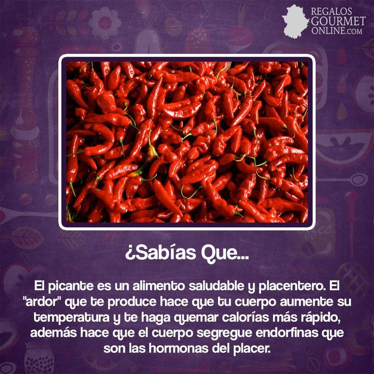 ¿#SabíasQue El picante es un alimento saludable y placentero?#Curiosidades#Gastronomía