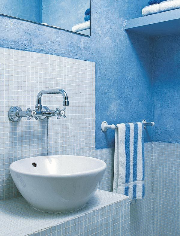 Lavabos con encanto y muebles auxiliares para el baño