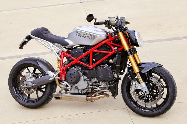 """Racing Cafè: Ducati 999 S """"Red Devil"""" by Claudio Zanotto"""