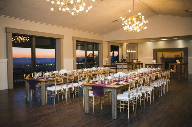 Wedding Inspiration Paradise Ridge Winery And The Color Of Year Radiant Orchid Wows Pinterest Venues Country