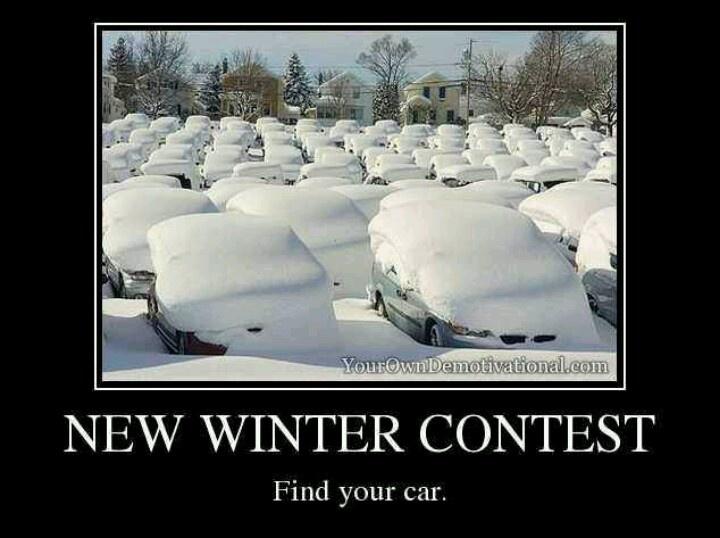 Winter contest funny