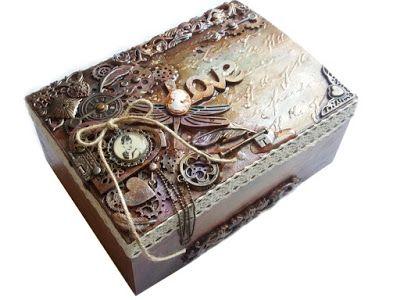 coral4u : Mixmediowa szkatuła