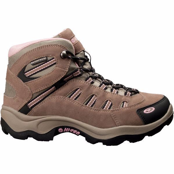 US Patriot Tactical - Hi-Tec Women's Bandera Mid Waterproof Boots (Taupe/Blush) 24045, $59.99 (http://uspatriottactical.com/hi-tec-womens-bandera-mid-waterproof-boot-taupe-blush-24045/)
