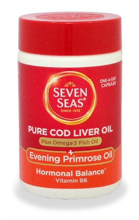 Seven Seas Pure cod liver oil and evening Seven Seas Pure cod liver oil and evening primrose oil caps 30: Express Chemist offer fast delivery and friendly, reliable service. Buy Seven Seas Pure cod liver oil and evening primrose oil caps 30 o http://www.MightGet.com/january-2017-11/seven-seas-pure-cod-liver-oil-and-evening.asp