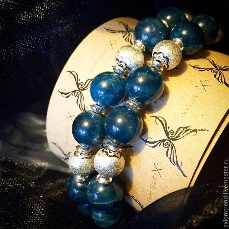 Купить Set браслетов Giacomo C. - темно-синий, мужской комплект, мужской браслет