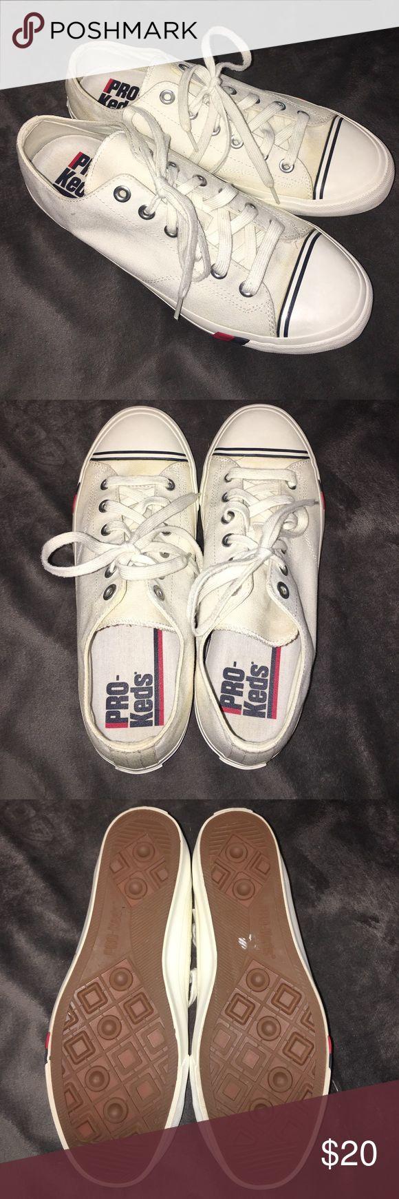 Pro Keds. Men's size 10.5. Brand New Pro Keds. Men's size 10.5 euro 44. White canvas. Brand new. No box. Pro Keds Shoes Moccasins